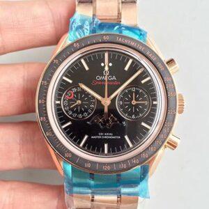 Omega Speedmaster Moonwatch Moonphase Chronograph 304.63.44.52.01.001 Black Dial