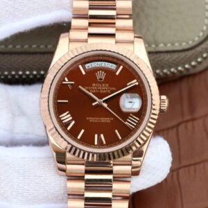 Rolex Day Date 40mm 228235 EW Factory Brown Dial