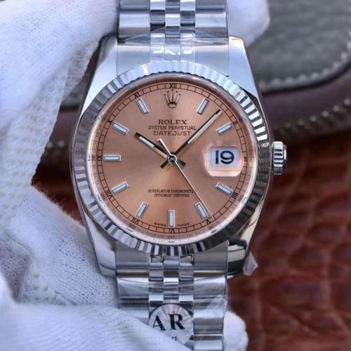 Rolex Datejust 116234-0090 36mm AR Factory Champagne Dial