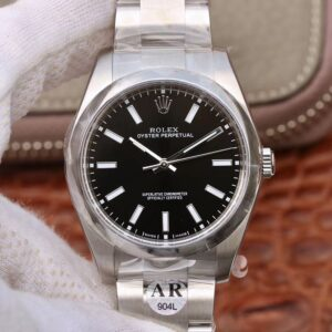 Rolex Oyster Perpetual 114300 39mm AR Factory Black Dial