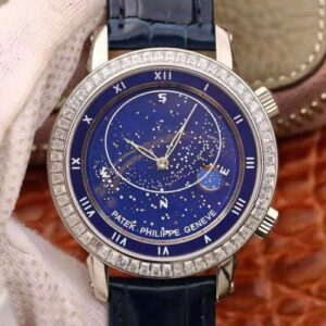Patek Philippe Grand Complications Sky Moon Celestial 5102G TW Factory Blue Dial