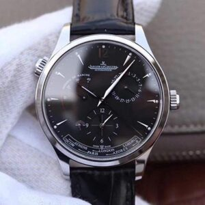 Jaeger-LeCoultre Master Geographic 1428421 TW Factory Black Dial